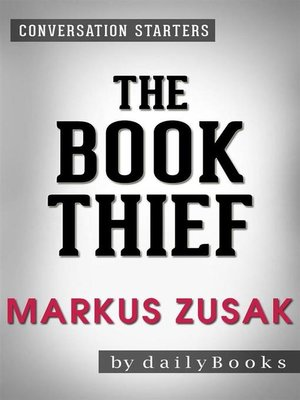cover image of The Book Thief--A Novel by Markus Zusak